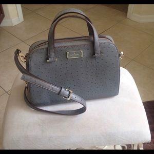 Grey Kate Spade Felix purse